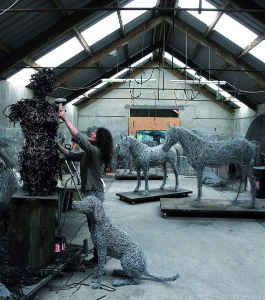 studio sculptures in progress ,see works in progress in the studio ...