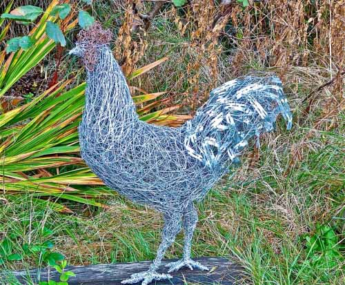 4. Wire Cockerel available