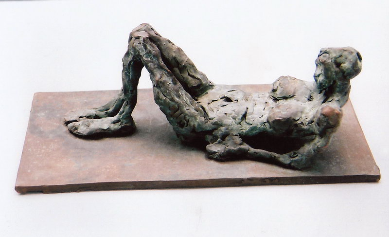 2. Reclining figure (bronze sculpture)