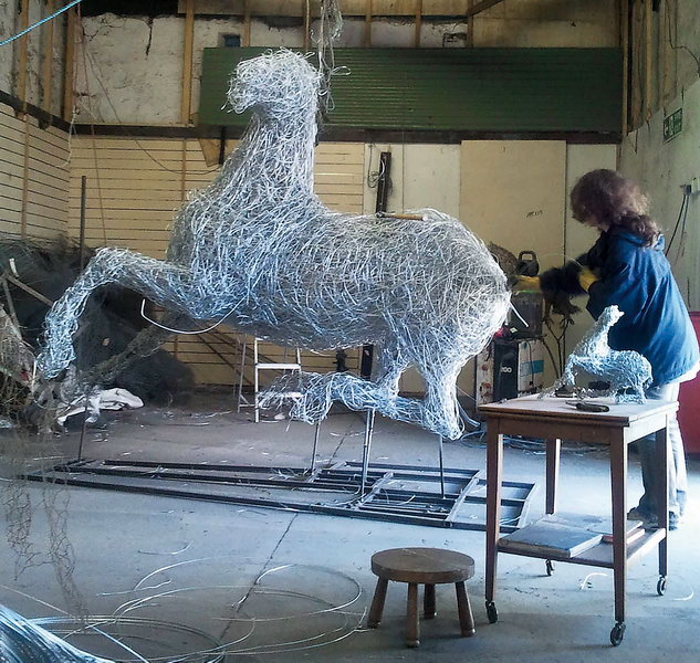 War Horse in progress