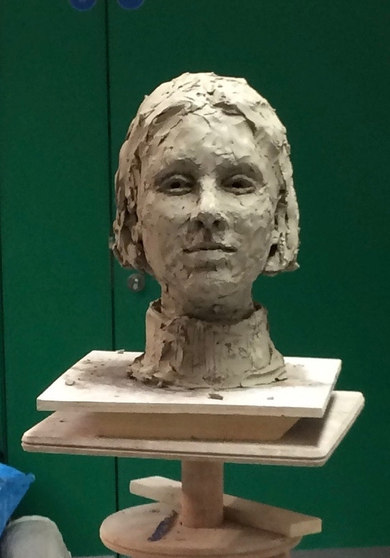 14. Portrait in clay