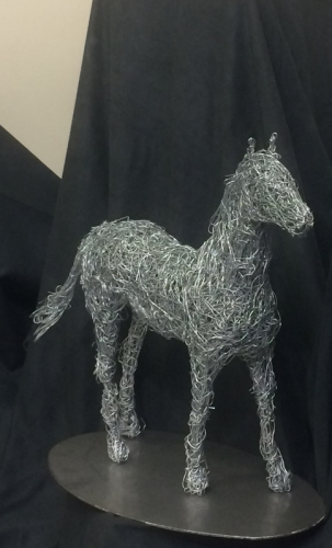 20. wire horse miniature 2017