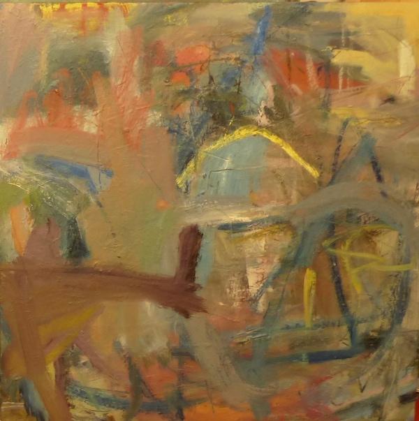 45. 'Configuration' oil on canvas 2021.